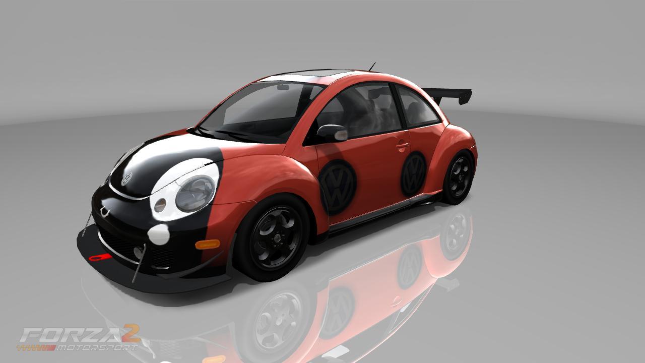 volkswagen beetle ladybird ladybug forza motorsport  custom paint job screened  slimm